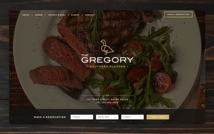 The Gregory website