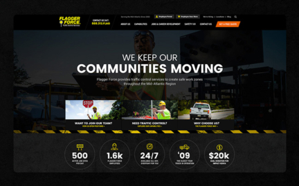 Flagger Force website