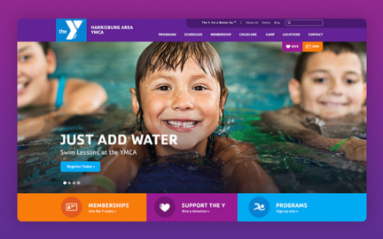 Harrisburg YMCA website